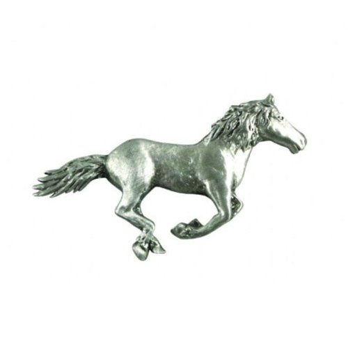 A E Williams Running Horse lapel pin