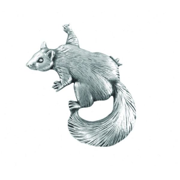 Squirrel Climing lapel pin