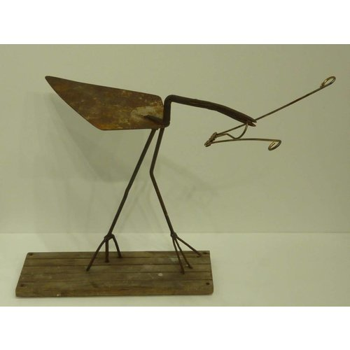 Ian Taylor 'Trowel Bird with Insect'