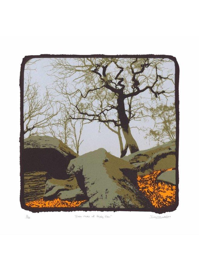Grüne Felsen bei Shipley Green Ed. 33