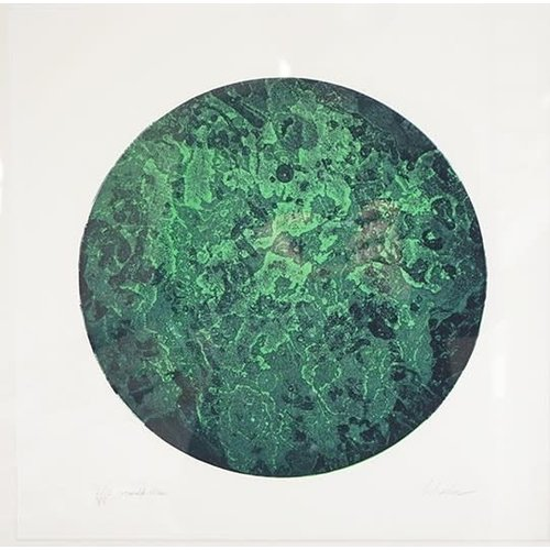 West Yorkshire Print Workshop Emerald Moon
