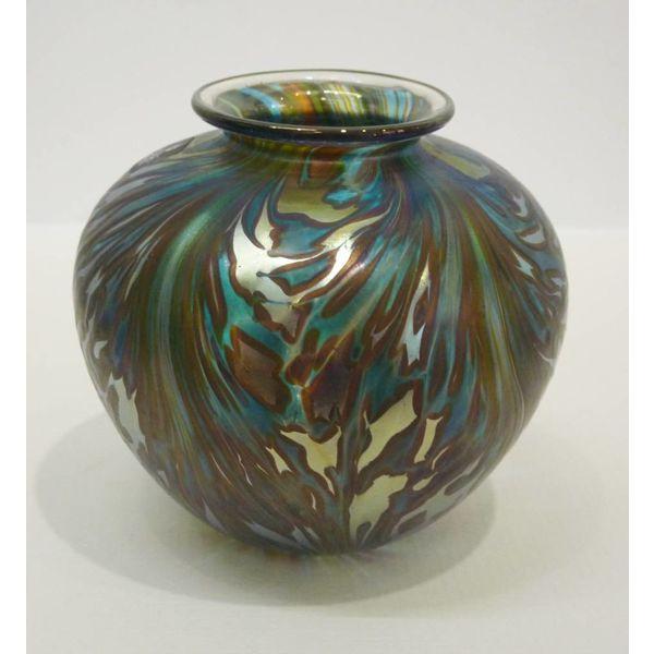 Featherspray Green Amphora