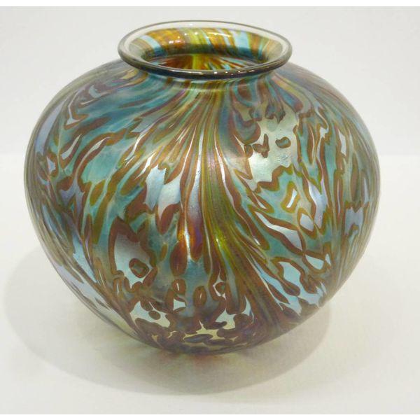 Featherspray Green Amphora med.