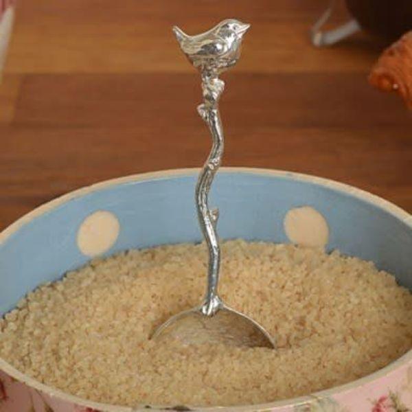 Bird Wren Small Sugar Spoon