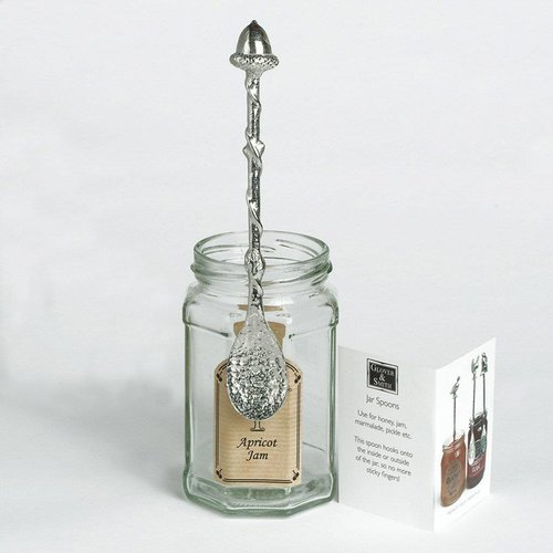 Glover and Smith Acorn Long Jar Spoon