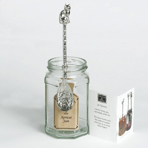 Glover and Smith Cat Long Jar Spoon