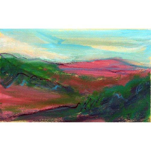 Liz Salter Distant Pink Hill