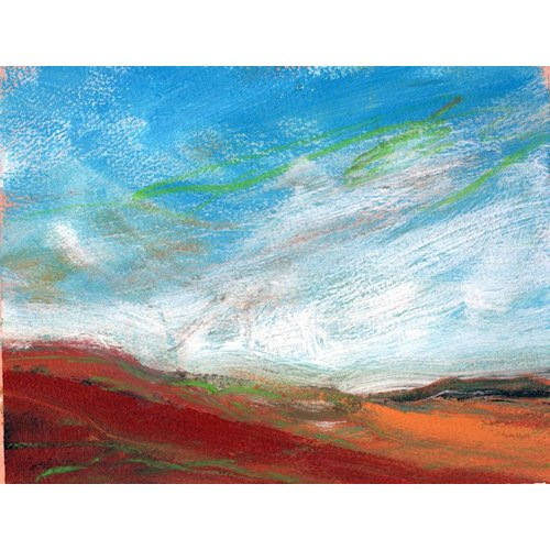Liz Salter Copy of Hot Blue Sky