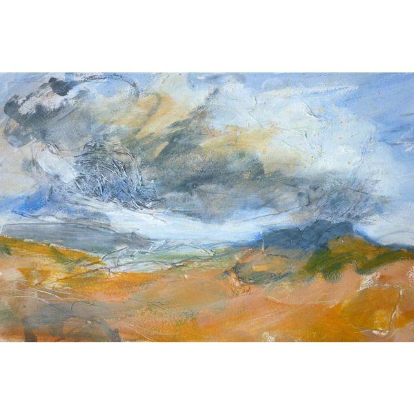 Nubes superiores de la colina