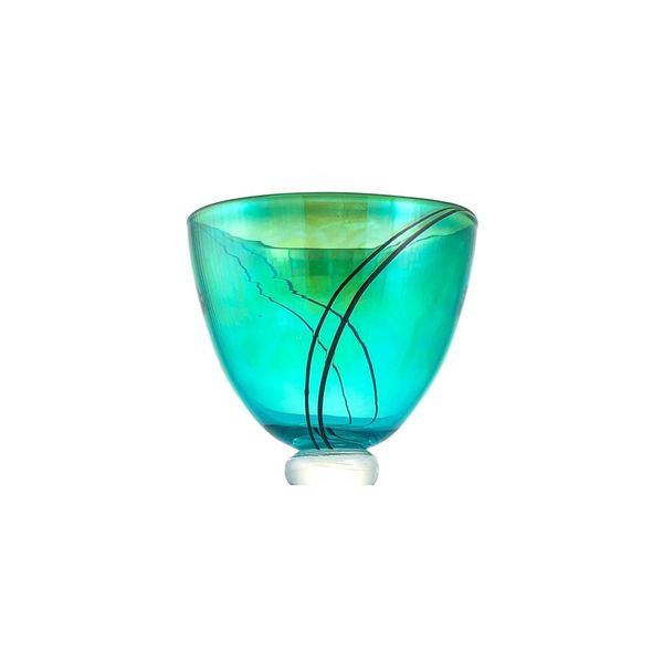 Transluscent green bowl