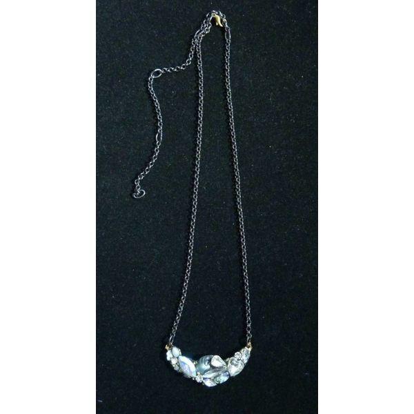 Vintage Quartz Necklace crystal assemblage