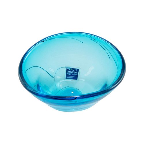 Stuart Akroyd Eliptical glass bowl