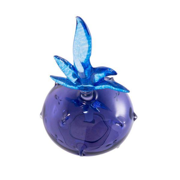Fun shape scent bottle purple