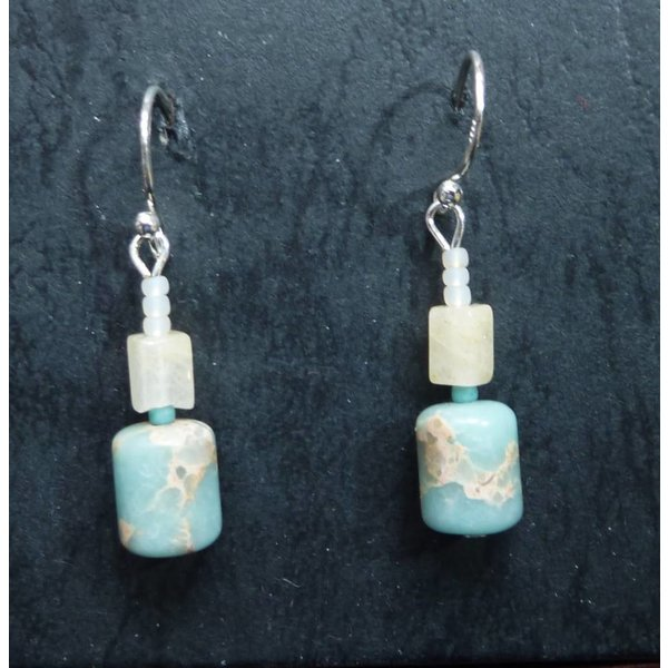 Copy of Olive Jade Earrings