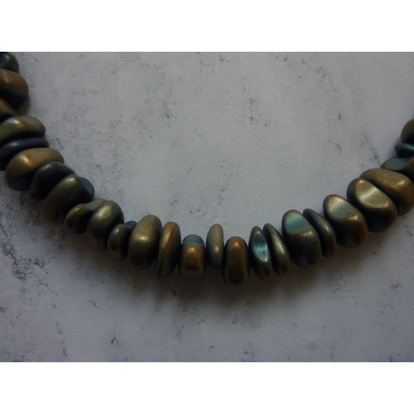 Copy of Jade Stick, Amazonite, African Turquoise Multistone Necklace Necklace