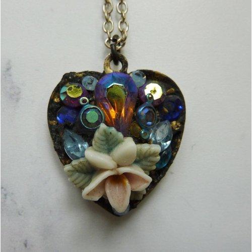 Annie Sherburne Vintage Heart Necklace