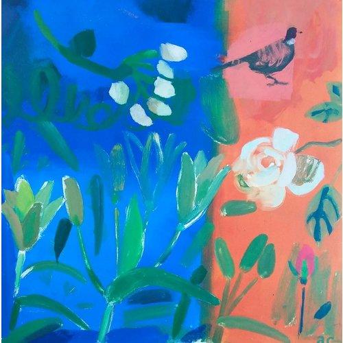 Adrienne Craddock Día Lillies y faisán