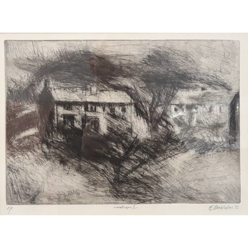 West Yorkshire Print Workshop Landschaft III