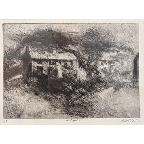 West Yorkshire Print Workshop Landschaft III