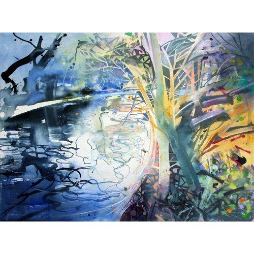 David Wiseman Rivers Edge, sol de invierno