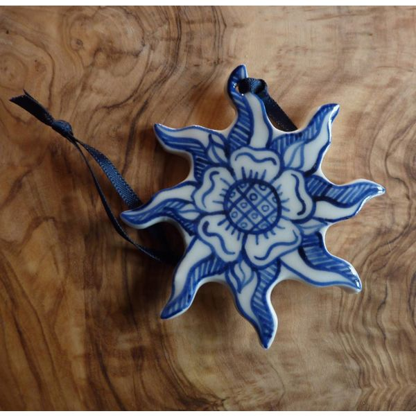 Sonne in der Pracht-Keramik-Dekoration 058