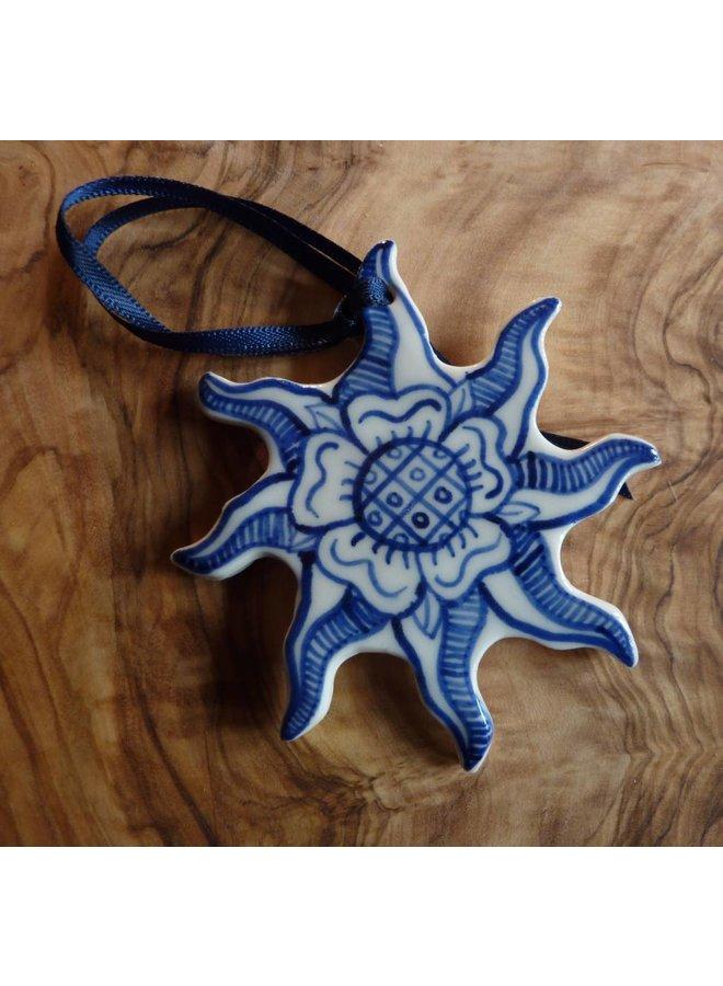 Sonne in Splendor Keramik Dekoration 057
