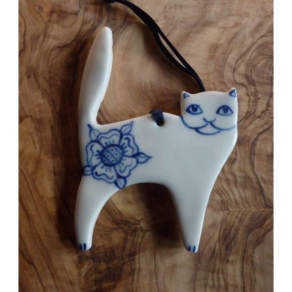 Cat Ceramic Decoration