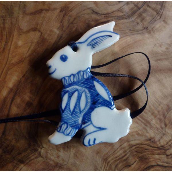 Bunny Ceramic Decoration