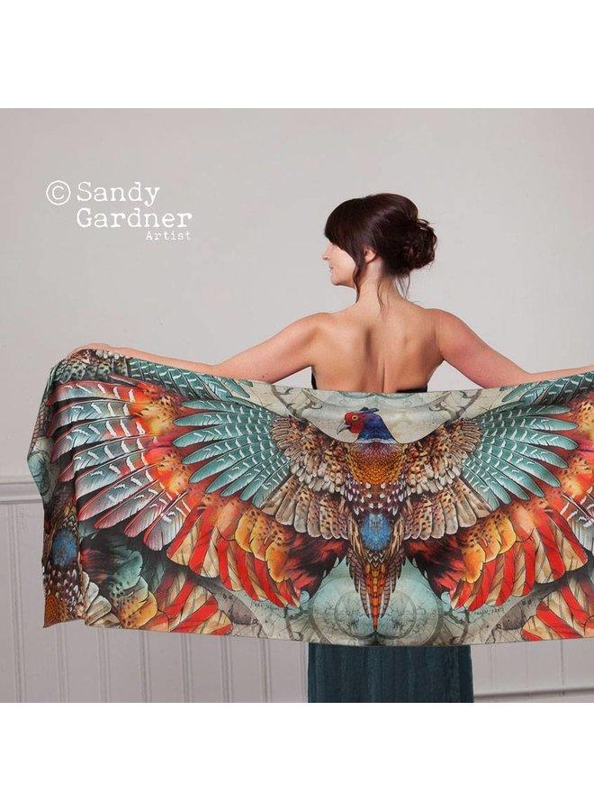 Fasan Phoenix tragbare Kunst Wrap