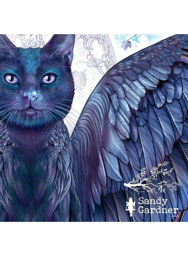 Tragbarer Kunstwickel der Nachtkatze