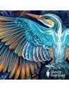 Constellation Kingfisher tragbare Kunstfolie