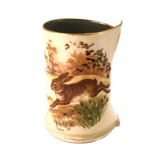 Vanessa Conyers Lustre Fox and Hare Lustre vase