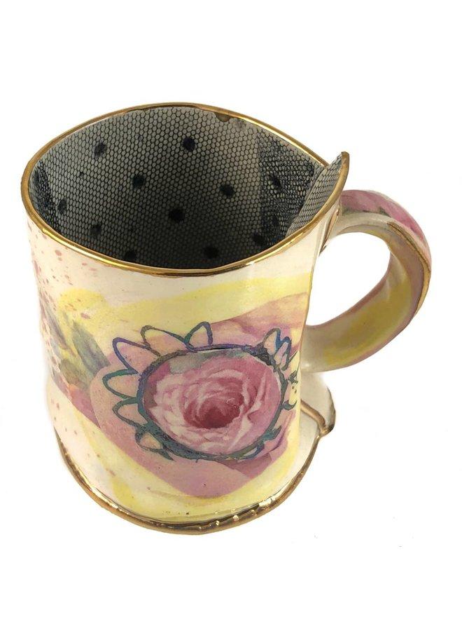 Magic Weather Rosen Lustre Tasse
