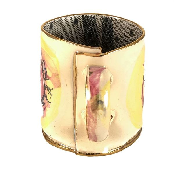 Magic Weather Roses Lustre cup