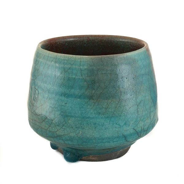 Chawan Tea Bowl Raku 1
