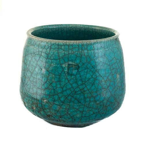 Judy Caplin Chawan Tea Bowl Raku 2