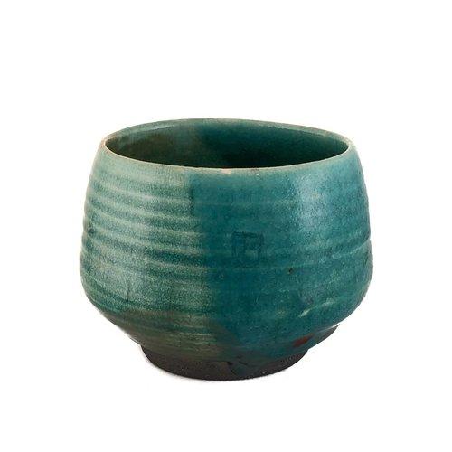 Judy Caplin Chawan Tea Bowl Raku 3