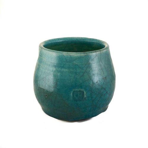 Judy Caplin Chawan Tea Bowl Raku 4