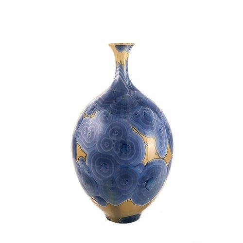 Paul Muchan Kristallglasierte Flasche Form 2