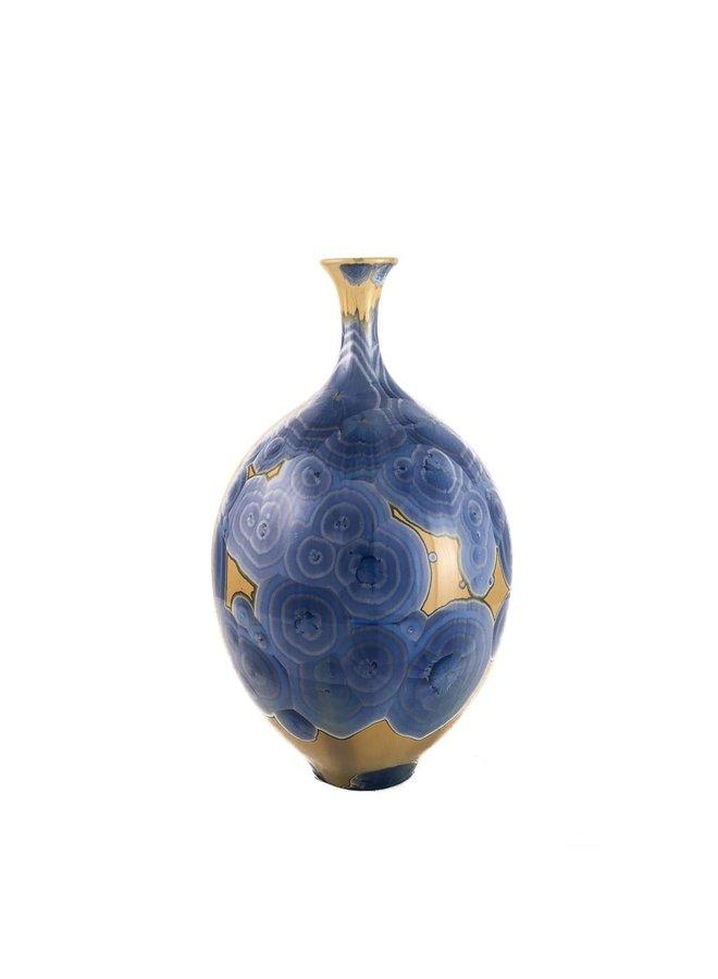 Kristallglasierte Flasche Form 2