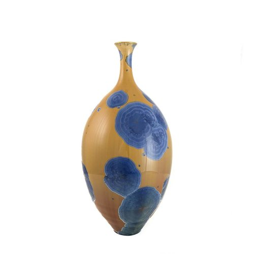 Paul Muchan Crystal Glazed Bottle form 1