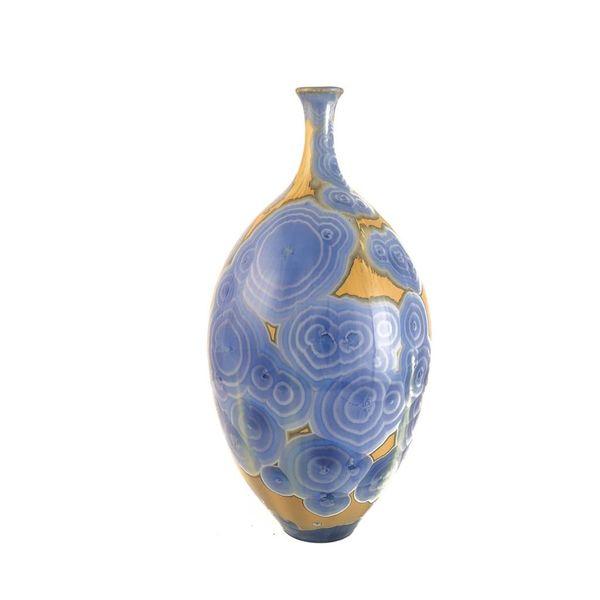 Kristallglasierte Flasche Form 3