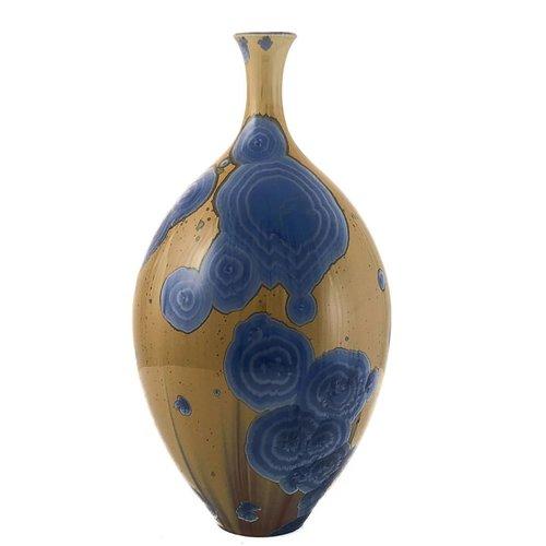 Paul Muchan Kristallglasierte Flasche Form 4