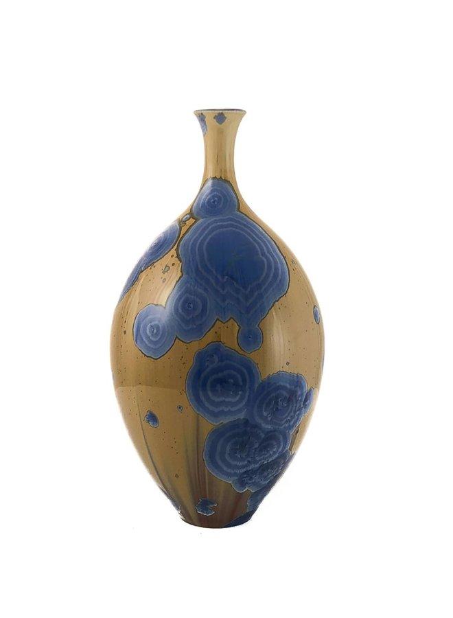 Kristallglasierte Flasche Form 4