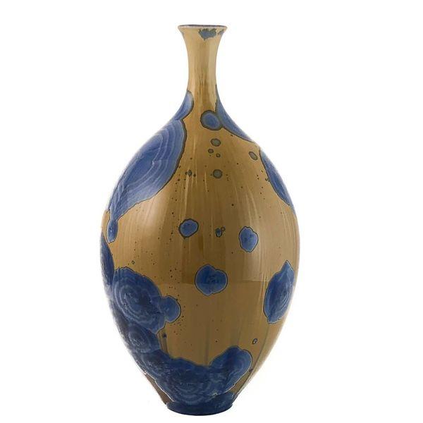 Botella de cristal esmaltado forma 4