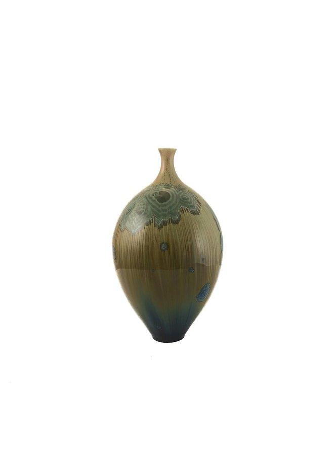 Kristallglasierte Flasche Form 5