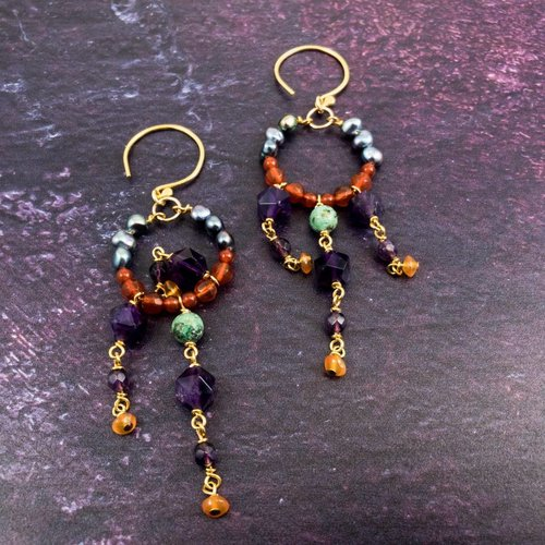 Katherine Bree Duchess Mosaic Earrings
