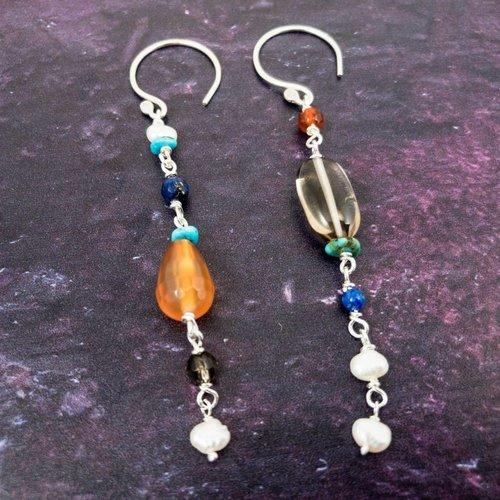 Katherine Bree Duet Mosaic Earrings
