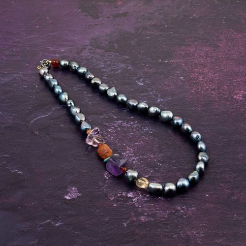 Katherine Bree Princes Fresco necklace