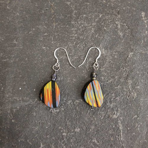Sara Withers Flat Polymer Earrings